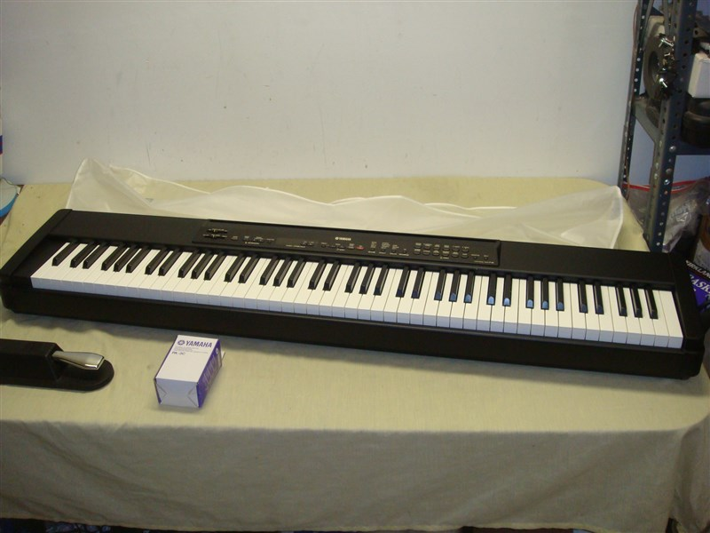 Yamaha p80 88 key weighted digital piano keyboard with for Yamaha p45b keyboard