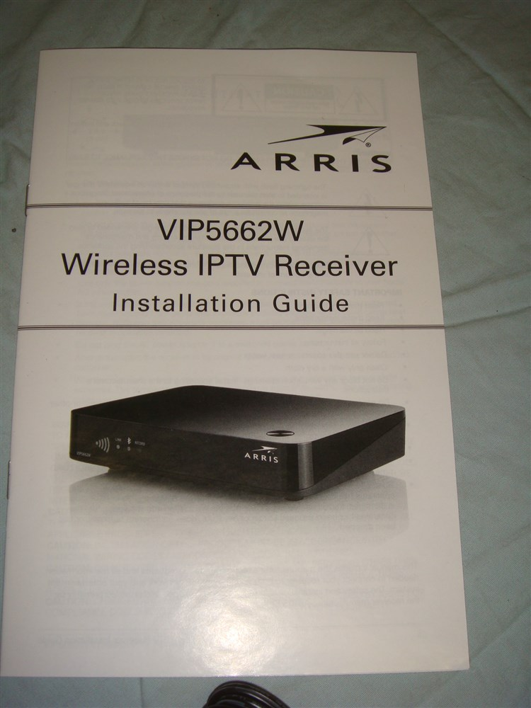 Details about ARRIS FRONTIER VIP5602W 4K IPTV SET TOP BOX RECEIVER 1TB DVR  W WIFI - NEW