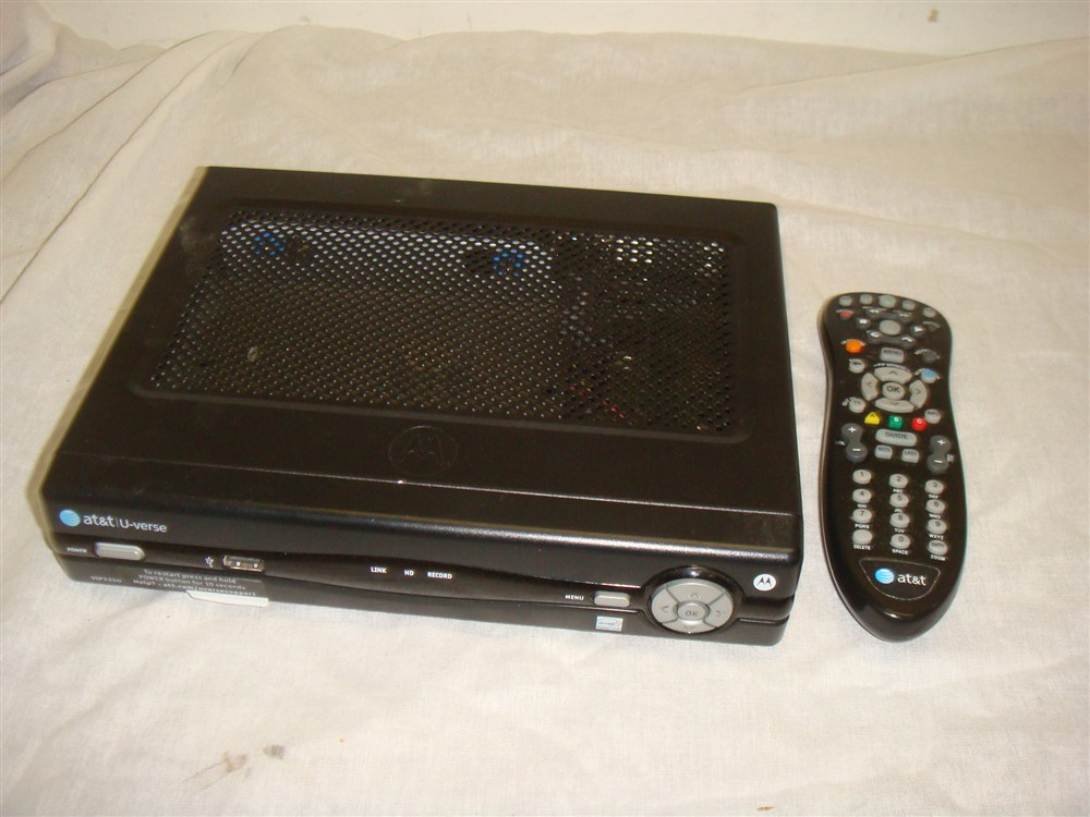 Details about AT&T ARRIS U-VERSE VIP2250 DVR HD RECEIVER WITH REMOTE - As  Is - Untested