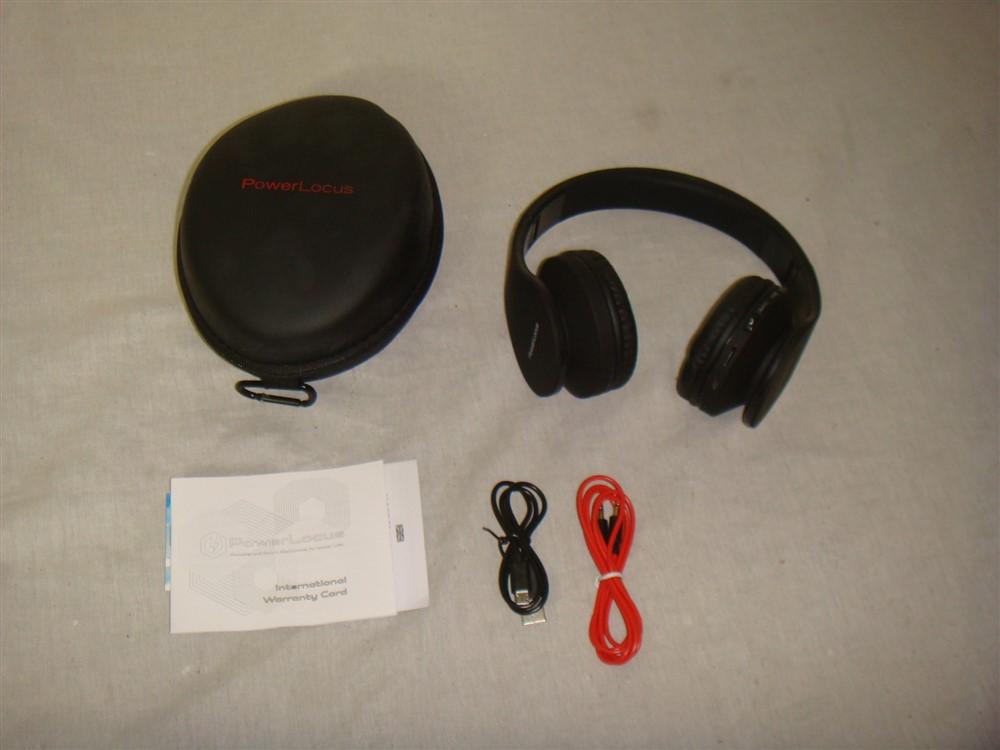 Power Locus Bluetooth Wireless Foldable Over Ear Headset Ebay